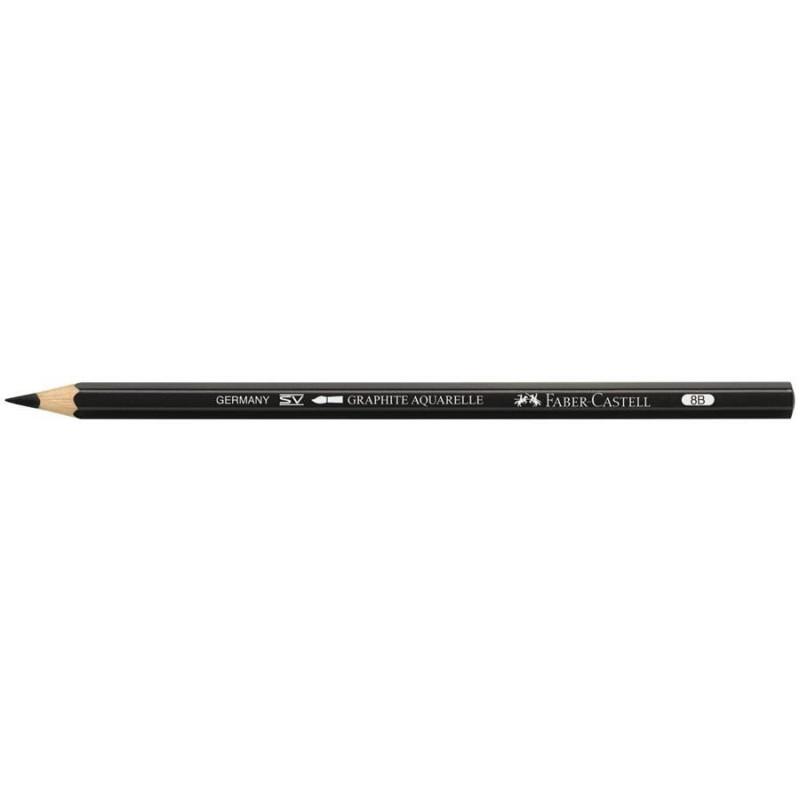 Creion Graphite Aquarelle Faber-Castell - 8B