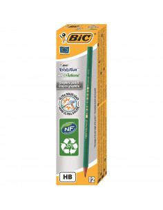 Creion grafit BIC ECO Evolution 650, 12 buc/cutie