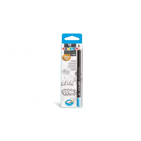 Set creioane H Carioca, 12 buc/ cutie