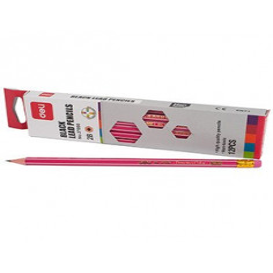 Creion 2B Deli Cu Radiera