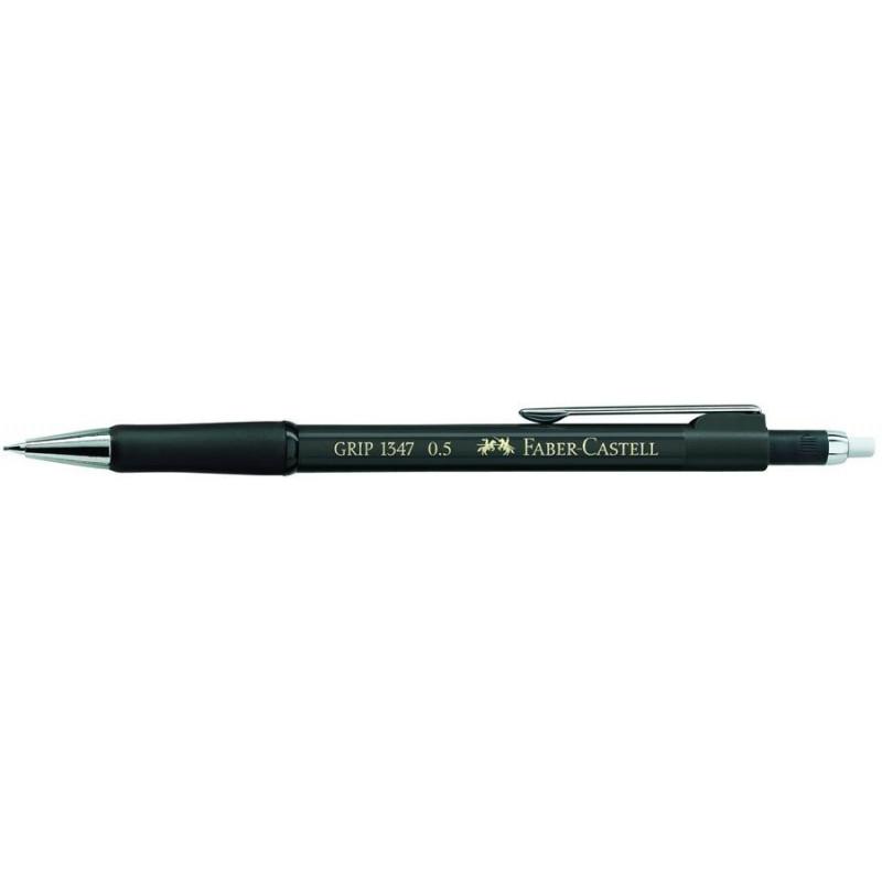 Creion Mecanic Faber-Castell 0.5 mm Grip 1345 - Negru