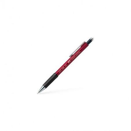 Creion Mecanic Faber-Castell 0.5 mm Grip 1345 - Rosu Metalizat