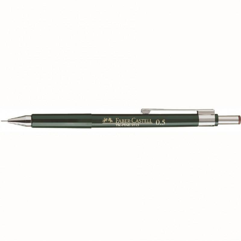 Creion Mecanic Faber-Castell 0.5 mm Tk-Fine 9715 - Verde