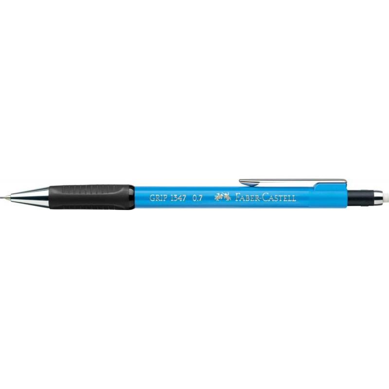 Creion Mecanic Faber-Castell 0.7 mm Grip 1347 - Bleu