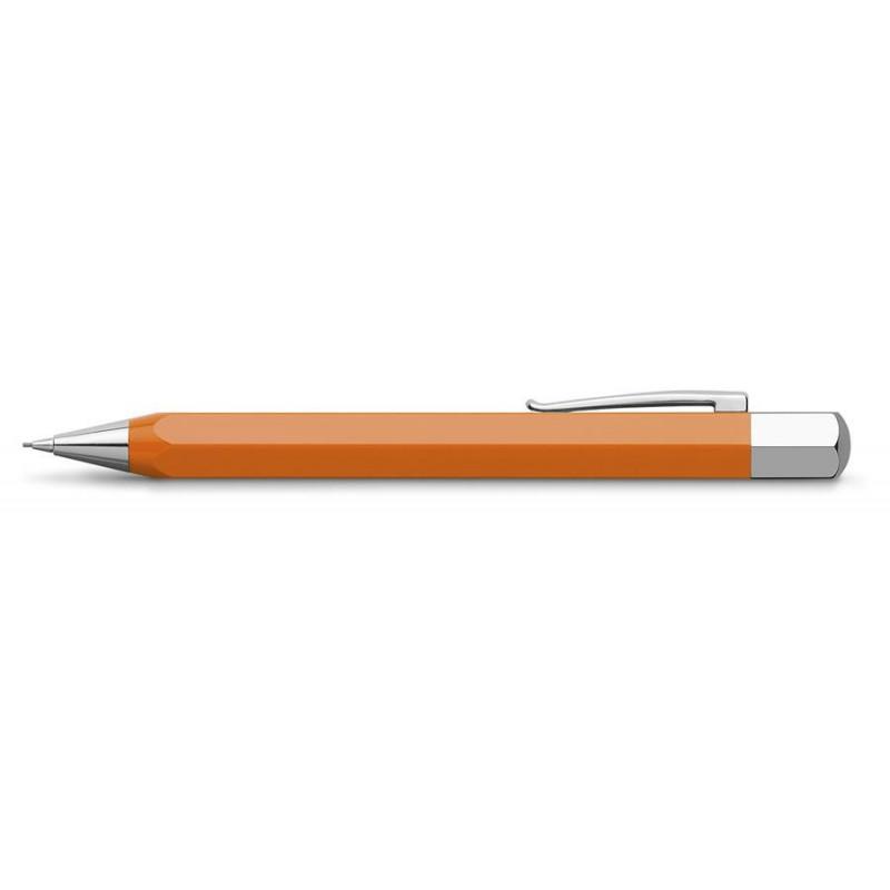Creion Mecanic Faber-Castell 0.7 mm Ondoro Portocaliu