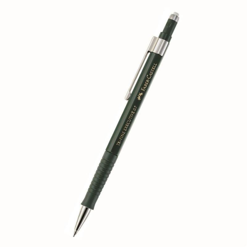 Creion Mecanic Faber-Castell 0.7 mm Tk-Fine - Verde