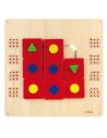 Jucarie de perete - Labirint cu forme geometrice, Viga