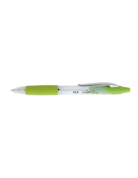 Creion Mecanic Scriva Ola 0.5 mm - Galben cu Alb