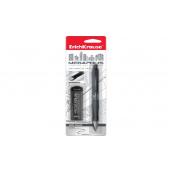 Set creion mecanic Erich Krause Megapolis Concept 0,5 mm si mine rezervă