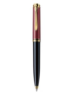 Pix Souveran K600 Mina Tip Parker accesorii Placate Cu Aur Corp Negru-Rosu
