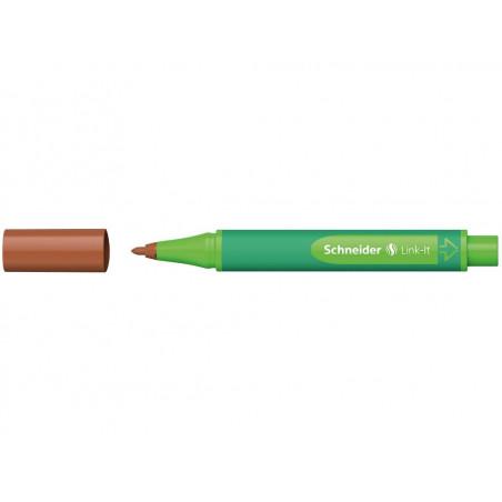 Liner Schneider Link-It 1.0 mm Castaniu