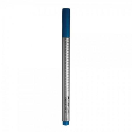 Liner 0.4 mm Grip Faber-Castell Albastru Marin