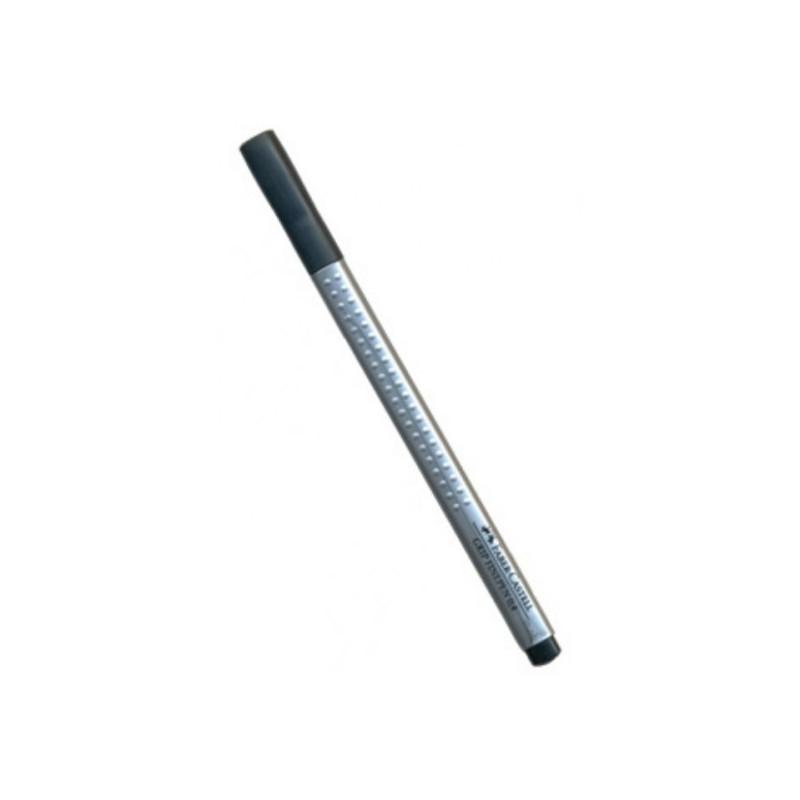 Liner 0.4 mm Grip Faber-Castell Negru