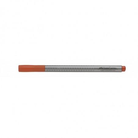 Liner 0.4 mm Grip Faber-Castell Portocaliu