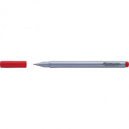 Liner 0.4 mm Grip Faber-Castell Rosu