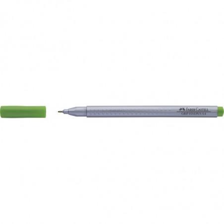 Liner 0.4 mm Grip Faber-Castell Verde Iarba