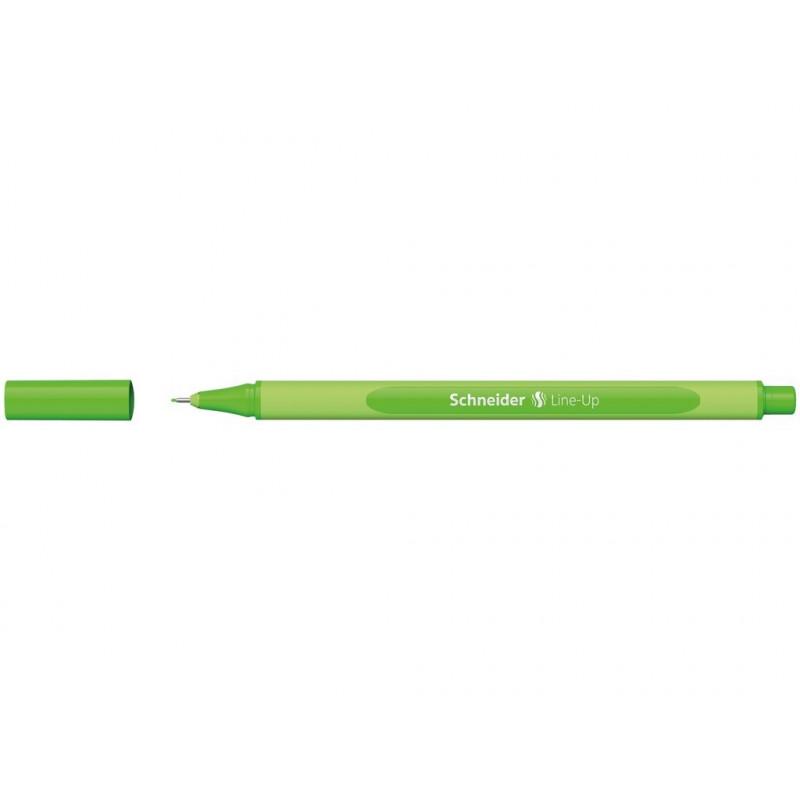 Liner 0.4 mm Schneider Line-Up Verde Neon