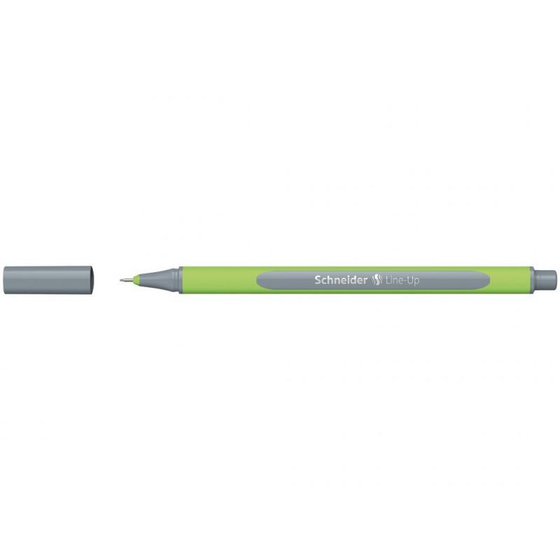 Liner 0.4 mm Schneider Line-Up Gri-Argint
