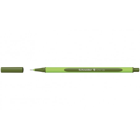 Liner 0.4 mm Schneider Line-Up Kaki