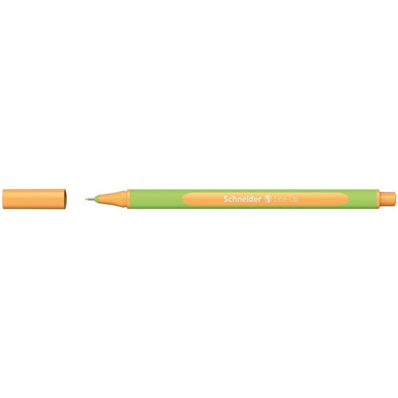 Liner 0.4 mm Schneider Line-Up Orange-Neon