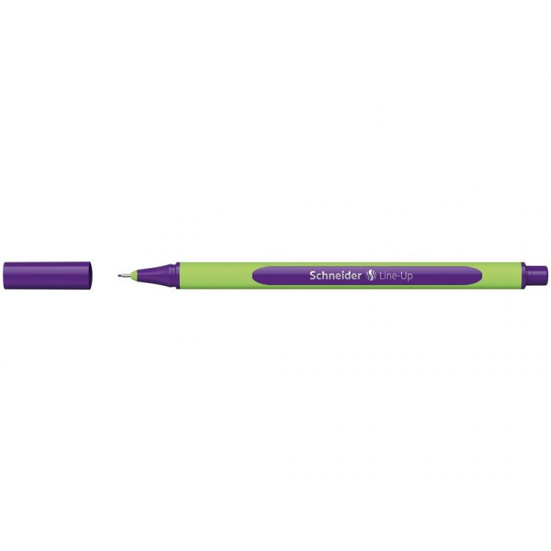 Liner 0.4 mm Schneider Line-Up Violet