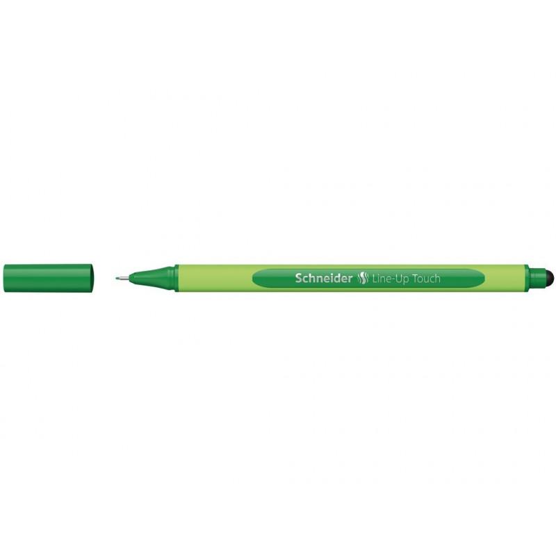 Liner 0.4 mm Schneider Line-Up Touch Verde
