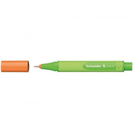 Liner 0.4 mm Schneider Link-It Portocaliu