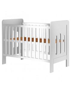 Patut copii din lemn Hubners Sophie 120x60 cm alb