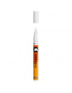 Marker acrilic Molotow ONE4ALL™ 127HS-EF, 1 mm, Alb