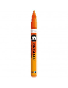 Marker acrilic Molotow ONE4ALL™ 127HS, 2 mm, Portocaliu