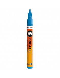 Marker acrilic Molotow ONE4ALL™ 127HS, 2 mm, Bleu