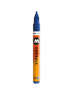 Marker acrilic Molotow ONE4ALL™ 127HS, 2 mm, true blue