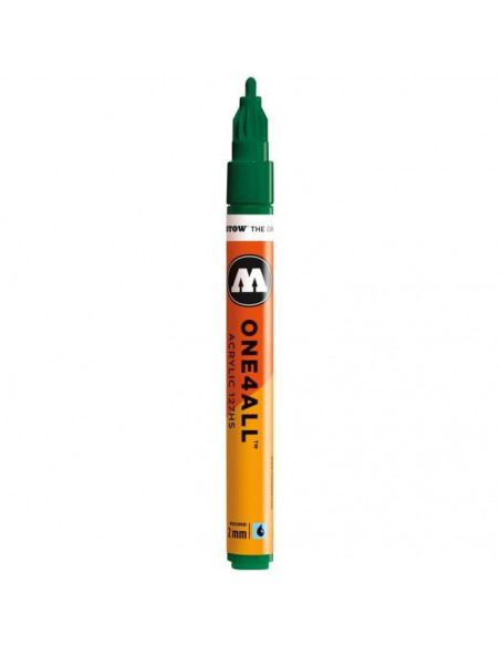 Marker acrilic Molotow ONE4ALL™ 127HS, 2 mm, mister greeen