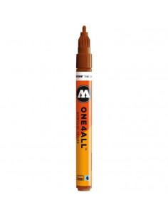 Marker acrilic Molotow ONE4ALL™ 127HS, 2 mm, hazelnut brown