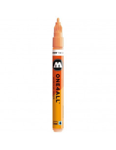 Marker acrilic Molotow ONE4ALL™ 127HS, 2 mm, peach pastel