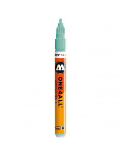 Marker acrilic Molotow ONE4ALL™ 127HS, 2 mm, lagoon blue pastel