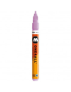 Marker acrilic Molotow ONE4ALL™ 127HS, 2 mm, lilac pastel