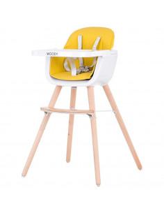Scaun de masa Chipolino Woody yellow