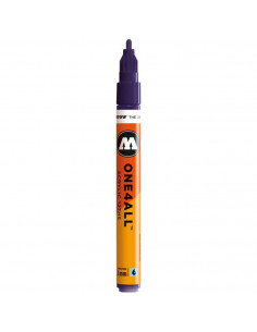 Marker acrilic Molotow ONE4ALL™ 127HS, 2 mm, violet dark