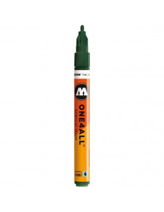 Marker acrilic Molotow ONE4ALL™ 127HS, 2 mm, future green