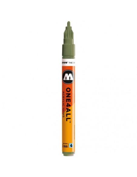 Marker acrilic Molotow ONE4ALL™ 127HS, 2 mm, amazonas light