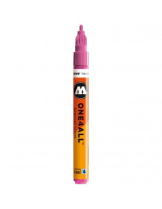 Marker acrilic Molotow ONE4ALL™ 127HS, 2 mm, fuchsia pink