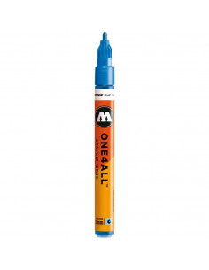 Marker acrilic Molotow ONE4ALL™ 127HS, 2 mm, metallic blue