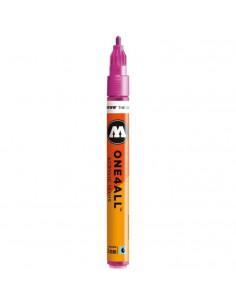 Marker acrilic Molotow ONE4ALL™ 127HS, 2 mm, metallic pink