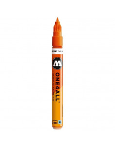 Marker acrilic Molotow ONE4ALL™127HS-CO, 1.5 mm, DARE orange