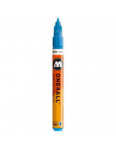 Marker acrilic Molotow ONE4ALL™127HS-CO, 1.5 mm, shock blue middle