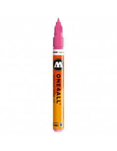 Marker acrilic Molotow ONE4ALL™127HS-CO, 1.5 mm, neon pink