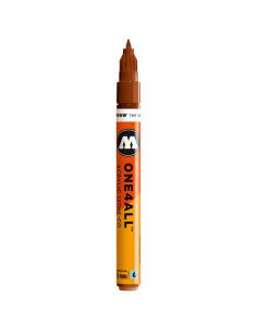Marker acrilic Molotow ONE4ALL™127HS-CO, 1.5 mm, hazelnut brown