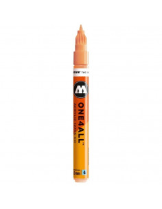 Marker acrilic Molotow ONE4ALL™127HS-CO, 1.5 mm, peach pastel