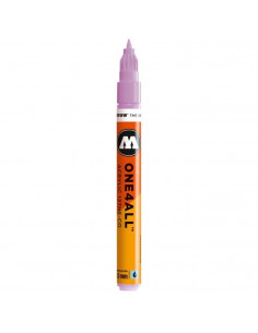 Marker acrilic Molotow ONE4ALL™127HS-CO, 1.5 mm, lilac pastel